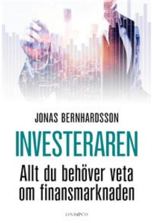 Bokomslag Investeraren Jonas Bernhardsson