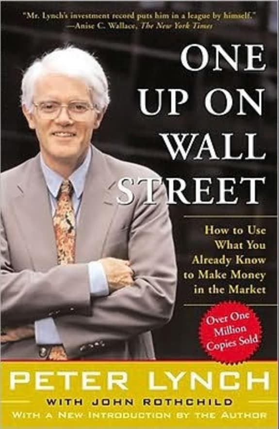 Bokomslag One Up On Wall Street Peter Lynch