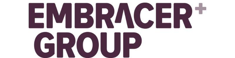 Logotyp för Embracer Group